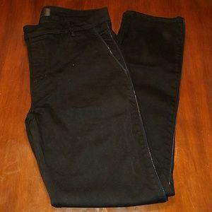 J Brand 32 X 32 Tyler Black Tuxedo Jeans